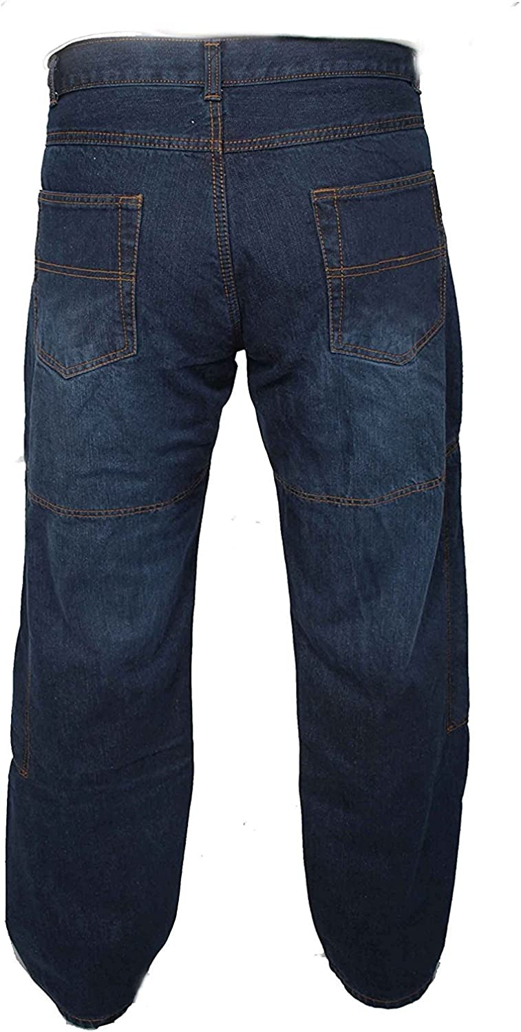 Newfacelook blue motorcycle pants armor motorcycle pants jeans Comes with aramid reinforced protective lining