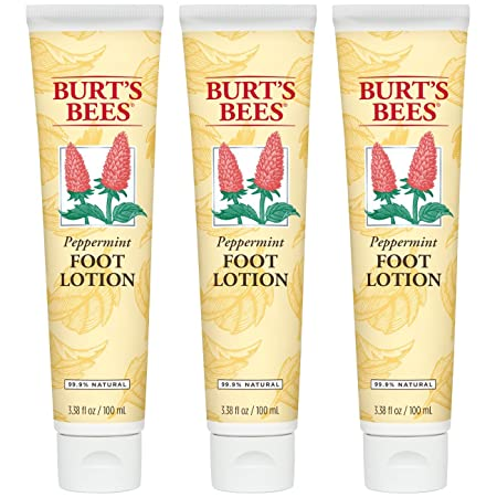 Burt s Bees Peppermint Foot Lotion – 3.38 Ounce Tube Pack of 3