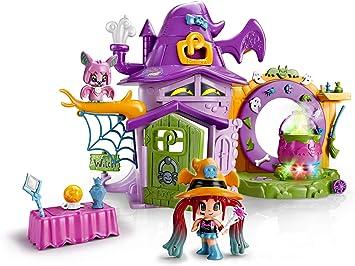 Comprar Pinypon - La Casa Encantada de Brujitas, con 1 figurita de Bruja, para niños y niñas de 4 a 8 años (Famosa 700014711)