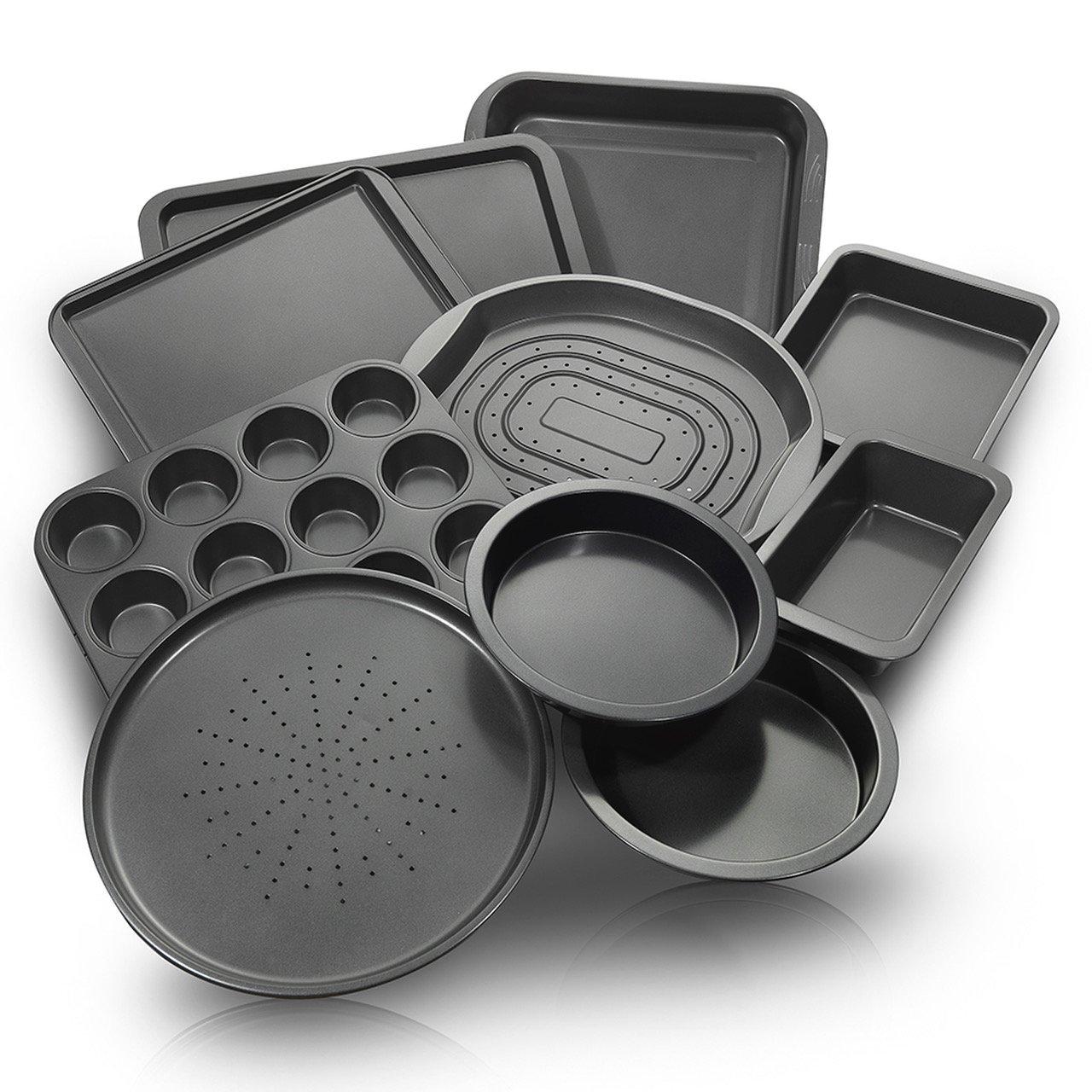 ChefLand 10-Piece Non-Stick Bakeware Set, Oven Crisper, Pizza Tray,... | eBay