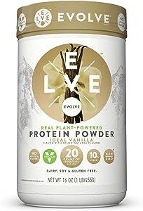 Evolve Protein Powder, Ideal Vanilla, 20g Protein, 1 Pound