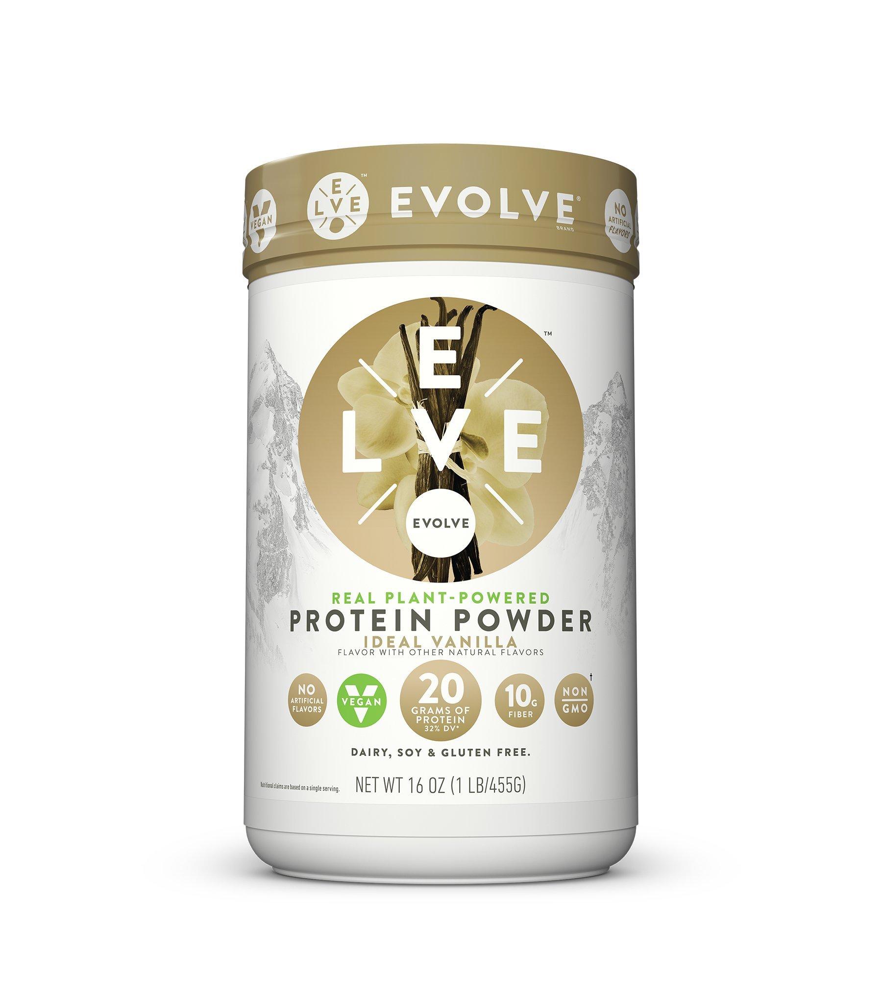 Evolve Protein Powder, Ideal Vanilla, 20g Protein,1 Pound by CytoSport