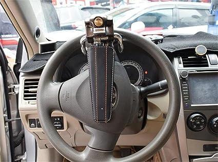 GO&CAR Vehículo de manejo antirrobo universal del volante de la seguridad del coche los 40 * 10 * 18.5 cm: Amazon.es: Deportes y aire libre
