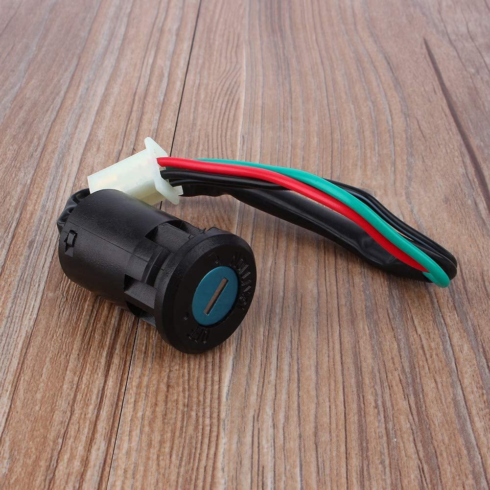 4 Wire Universal Motorcycle Ignition Key Switch On Off Ignition Starter Switch 4 Terminal for 50 90 110 125Cc Atv Taotao Bike