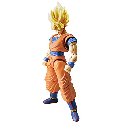 "Bandai Hobby Figure-Rise Standard Super Saiyan Son Goku ""Dragon Ball Z"" Building Kit: Toys & Games"