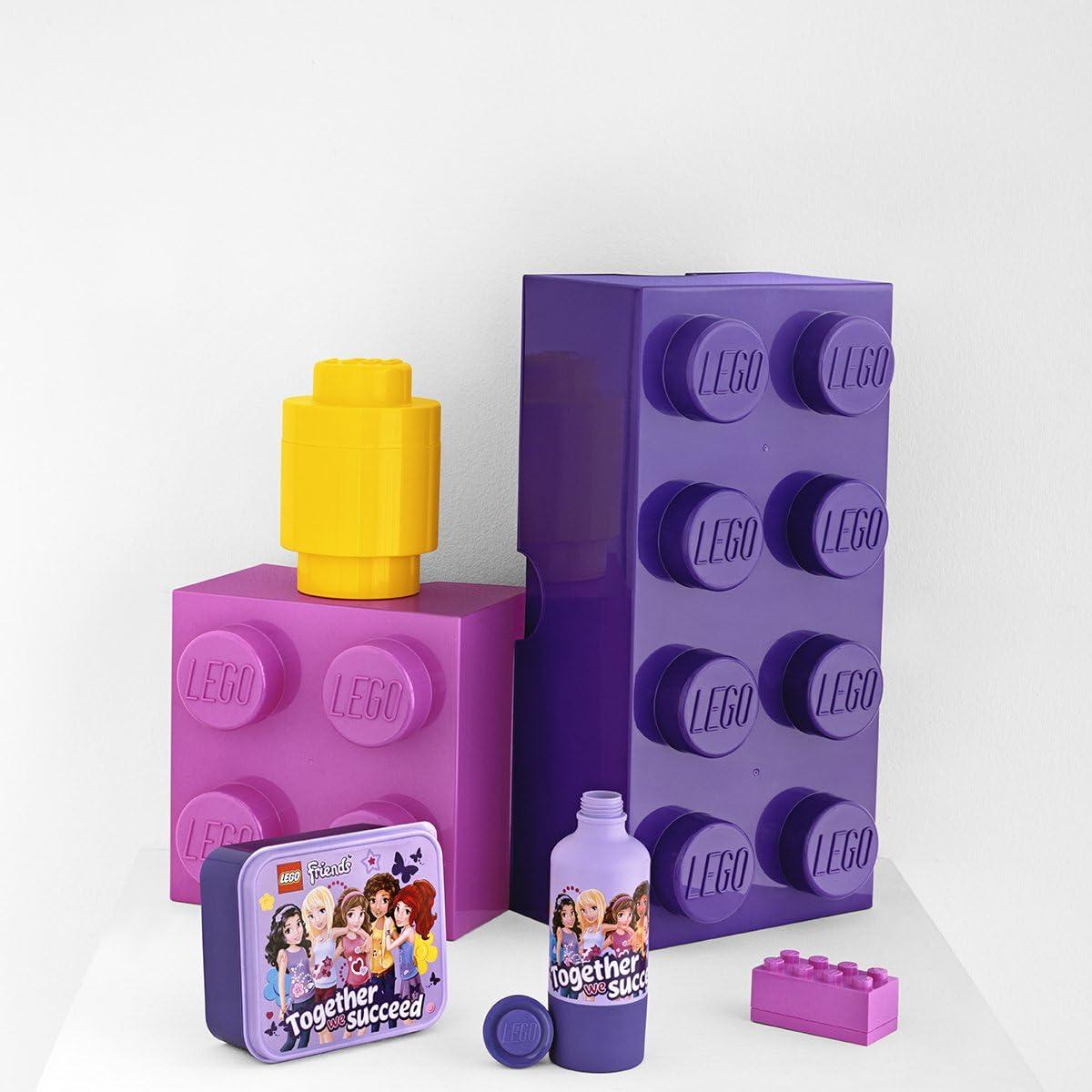 Lego Storage - Storage Box Lego Storage - 2 Pins Lilac - Lego Friends