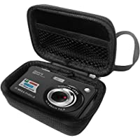 "FitSand Hard Case for Aberg Best 21 Mega Pixels 2.7"" LCD Rechargeable HD Digital Camera Travel Zipper Carry EVA Best Protection Box"