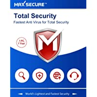 Max Secure Software Total Security Version 6 - 1 PCs, 1 Years (Email Delivery in 2 Hours - No CD)