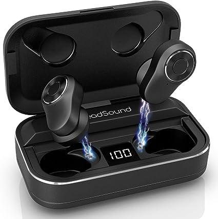 Amazon.com: HeadSound S5 audífonos inalámbricos verdaderos ...