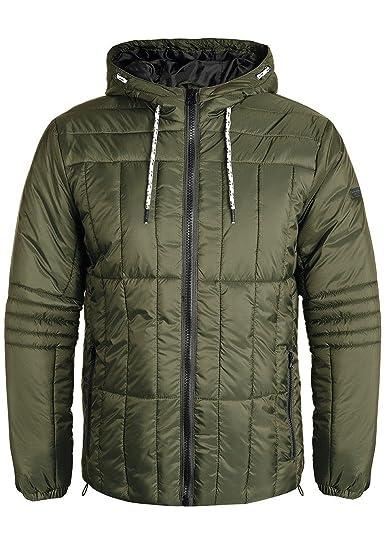 Blend Santiago Herren Steppjacke Übergangsjacke Jacke mit Kapuze