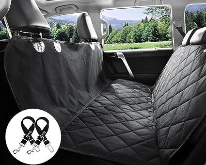 Amazon.com : Bonve Pet Dog Seat Cover - Waterproof Pets Car Seat ...