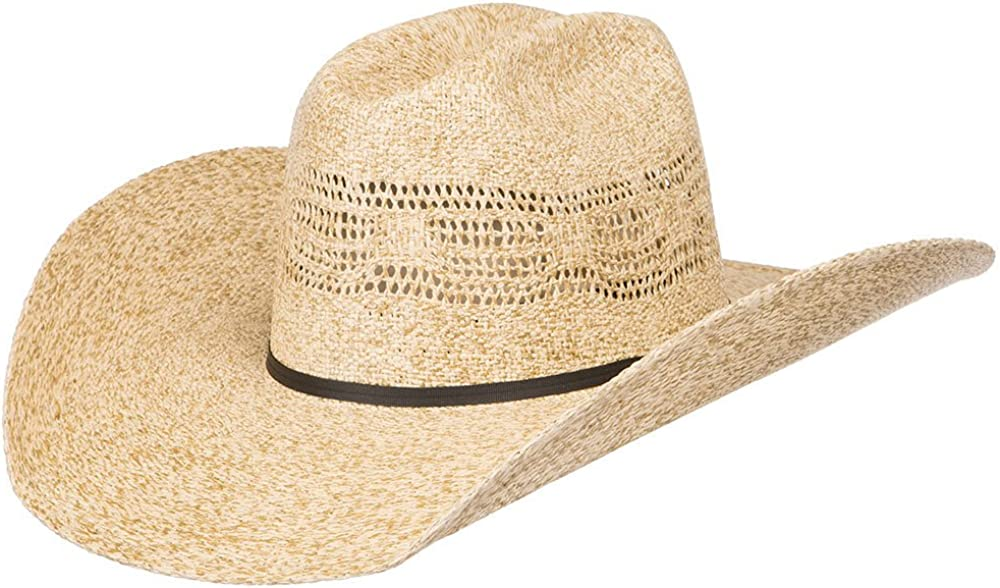 RODEO KING Mens Bangora HD Burlap Open Crown 4 1//2 Brim Cowboy Hat