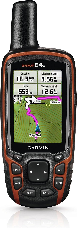 Garmin Gpsmap 64s Navigationshandgerät 2 6 Farbdisplay Barometrischer Höhenmesser Live Tracking Sport Freizeit