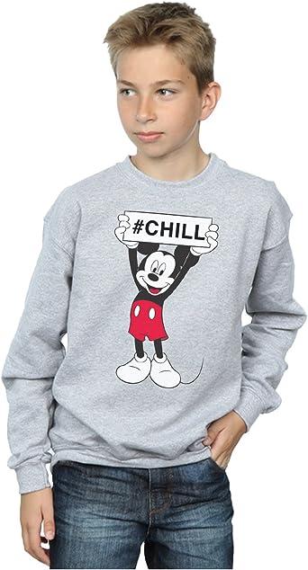 Disney niños Mickey Mouse Chill Camisa De Entrenamiento ...