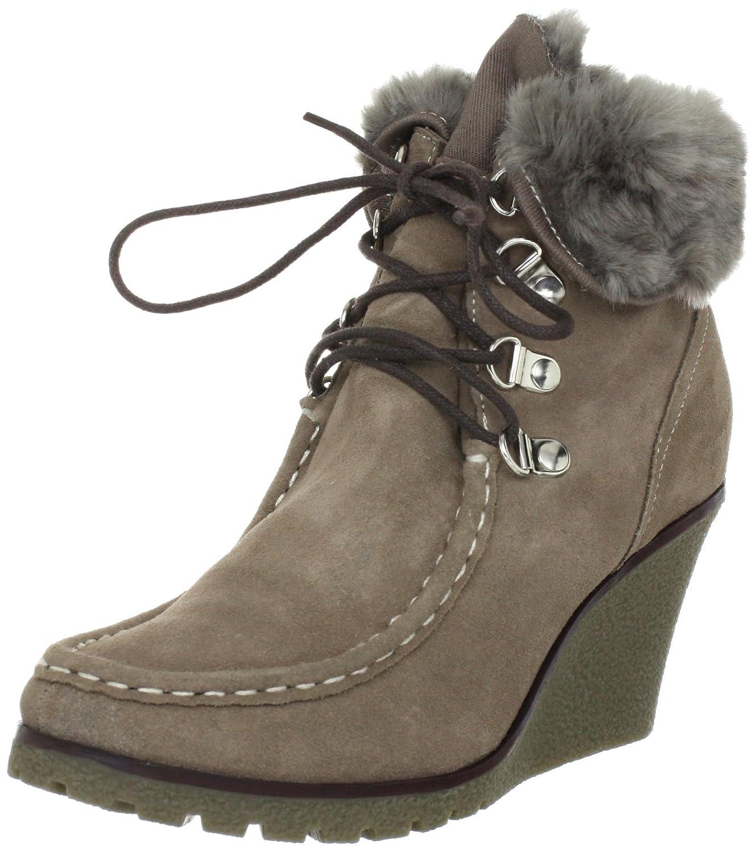 Andrea Conti 1144182 1144182 - Botines clásicos de ante para mujer, color beige, talla 40: Amazon.es: Zapatos y complementos
