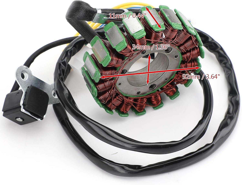 Artudatech Bobina magn/ética para motor de motocicleta generador de encendido de bobina para SYM GTS 125 LM12W Joymax 125 LN12W GTS 200 LM18W
