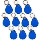 5 NFC Tags Schlüsselanhänger NTAG216 | 888 byte | blau
