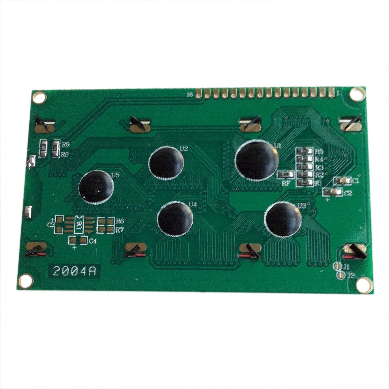SODIAL R 1pcs 20X4 Caracter Modulo LCD luz de fondo azul para Arduino LCD HD44780