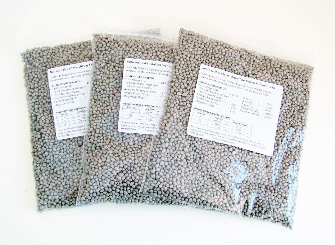 Nutricote 18-6-8 Total 180 Day Time Release Fertilizer (1, 3 lb.)