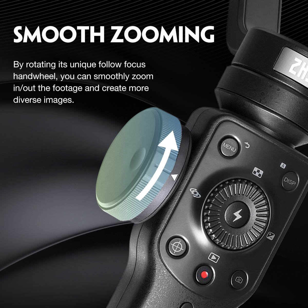 Zhiyun-Smooth-Q2-Gimbal-Stabilisateur 3 Axes pour iPhone T/él/éphone Huawei Samsung