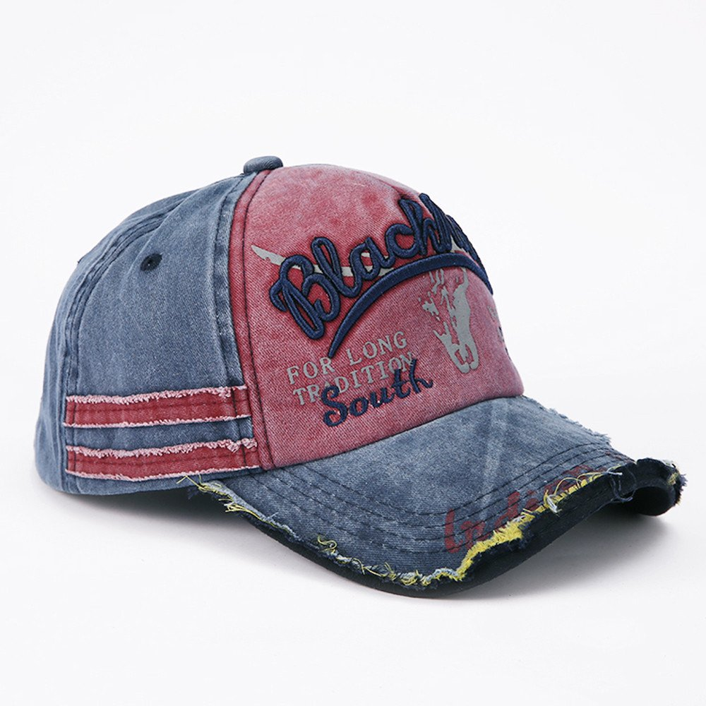 DEELIN Sombrero para Las Mujeres Hombres Blackrelel Carta De BéIsbol Gorra Camionero Cap Deporte Snapback Hiphop Hat Ajustable Sombrero del Sol: Amazon.es: ...