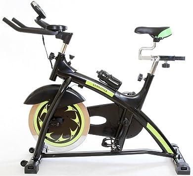 Gym Master - Bicicleta estática (medidor de calorías quemadas ...