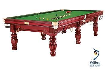 Mesa de Billar Dynamic Prince, 9 ft. (Soporte), Caoba, Snooker ...