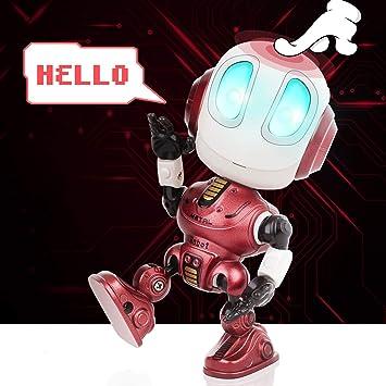 Amazon.es: Peradix Mini Robot de Juguete, Robot Juguete Educativo ...