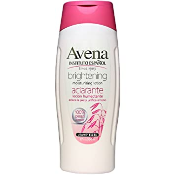 Avena Instituto Espanol Brightening Moisturizing Lotion 17oz &.