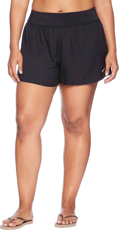 5171ff22cc40 NIKE Women s Plus Size Element Boardshorts Black 1X  Amazon.ca  Clothing    Accessories