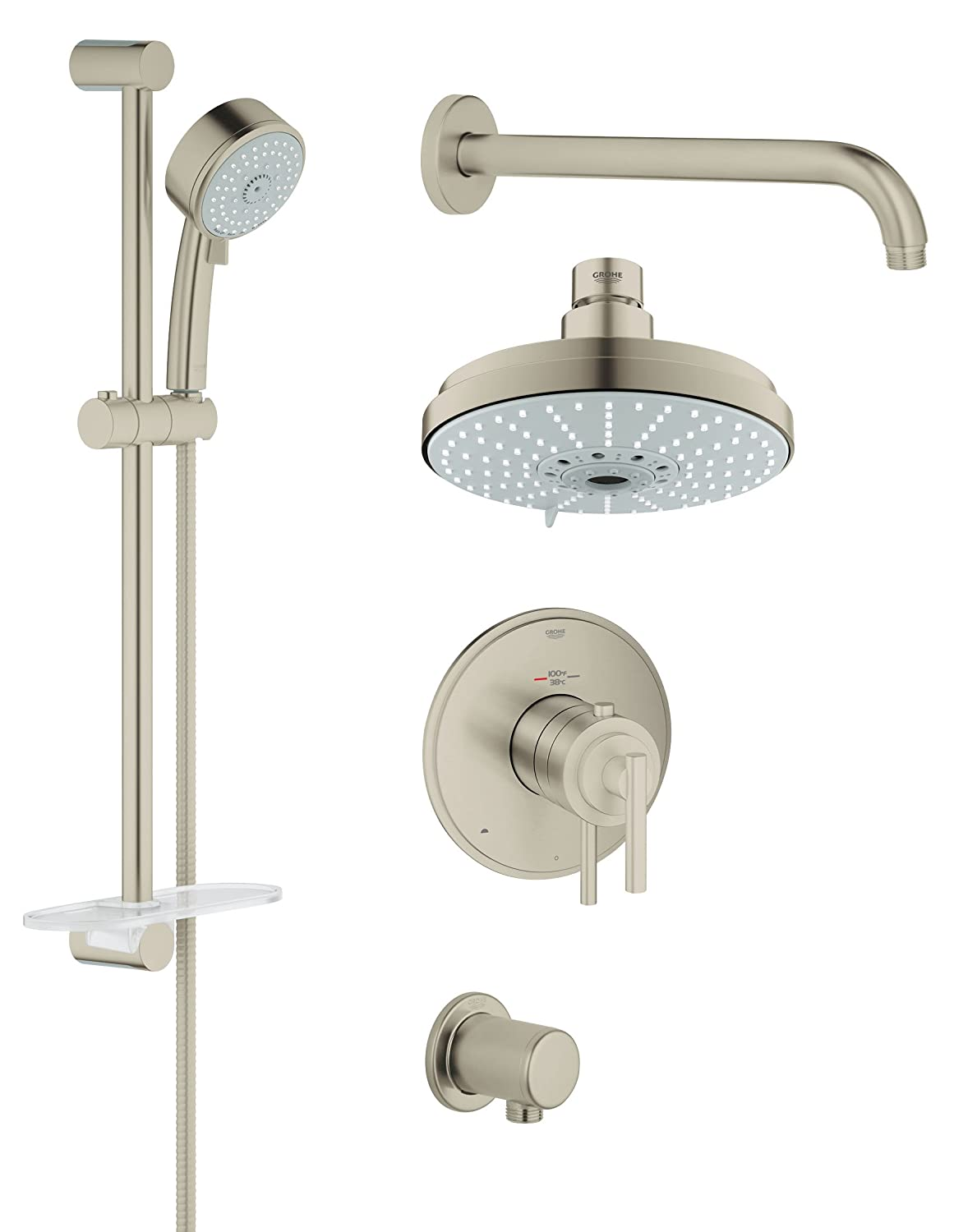 Grohflex Shower Set Timeless Dual Function Thm - 2.5 Gpm - - Amazon.com