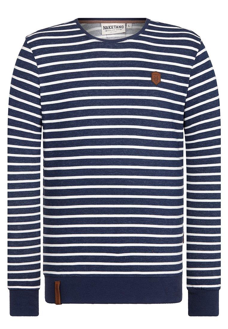 Naketano Men's Sweatshirt She Wants Me Stripe Hype, L