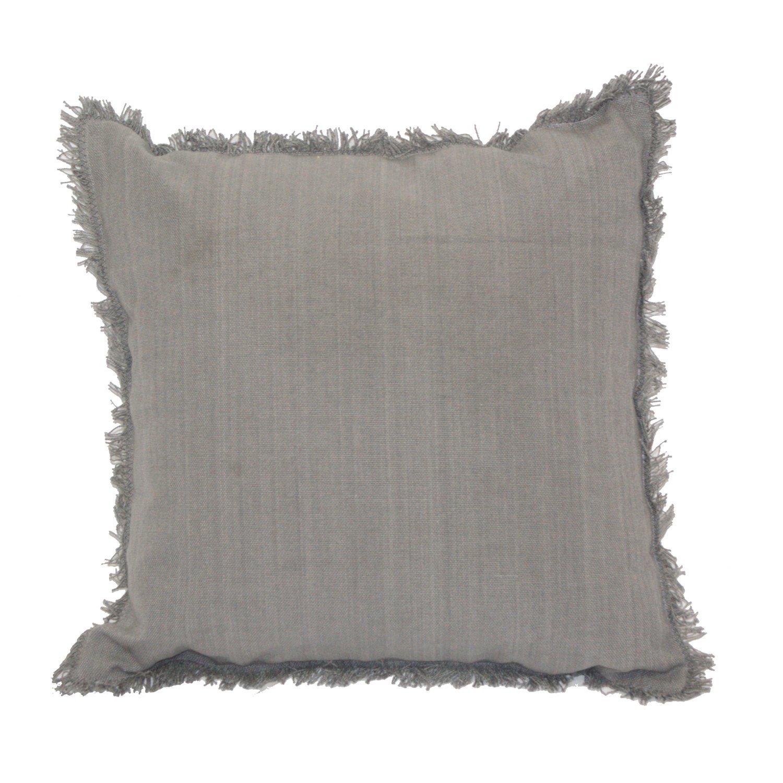 20 x 20 Urban Loft by Westex Fringe Grey Cushion