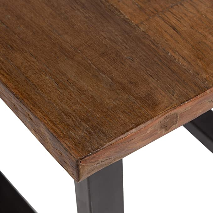 Amazon.com: Porter diseños I012 Liverpool mesa auxiliar ...