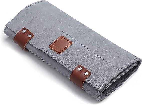 Bolsa para tijeras de peluquería, Funda para tijeras de peluquero, Organizador de tijeras – 12 bolsillos: Amazon.es: Belleza