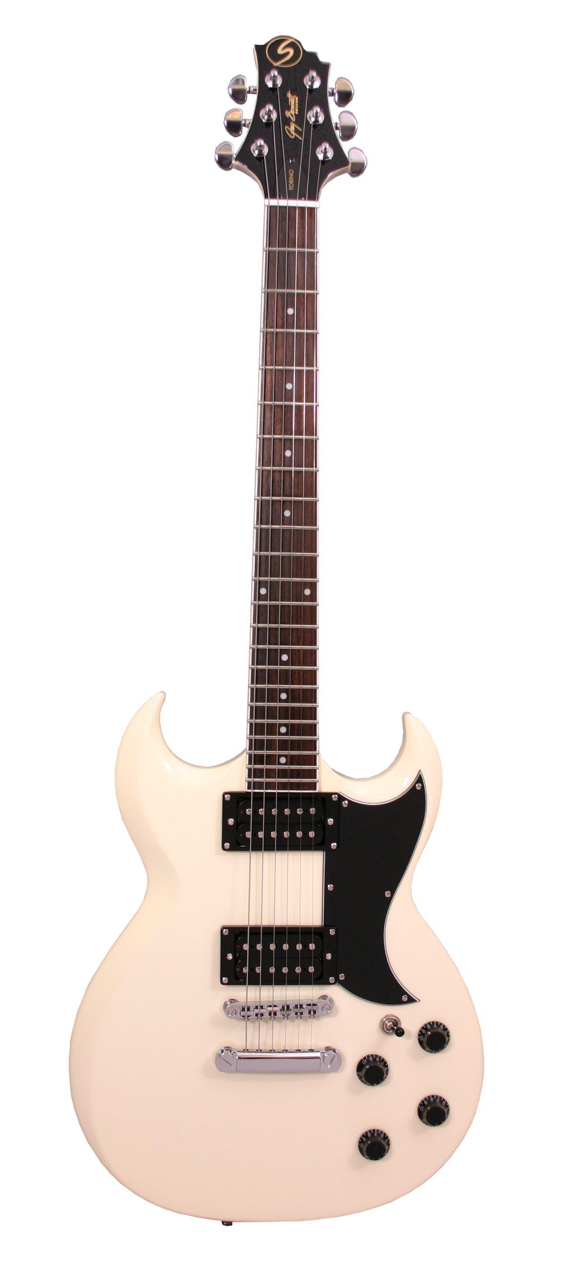 Samick Greg Bennett Design TR10 Electric Guitar, Off White by Samick