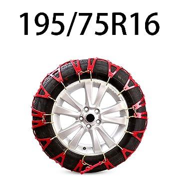 HEIFEN Sedán para automóvil SUV SUV Cadena de Nieve Material de Goma Oxford Resistente al Desgaste No fácil de Romper: Amazon.es: Hogar