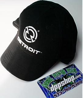 Detroit diesel trucker FITTED flex ball cap hat ear neck warmer flap gear  motor 69eea4e62ec2