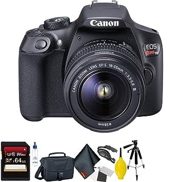 Amazon.com: Canon EOS Rebel T6 - Cámara réflex digital con ...