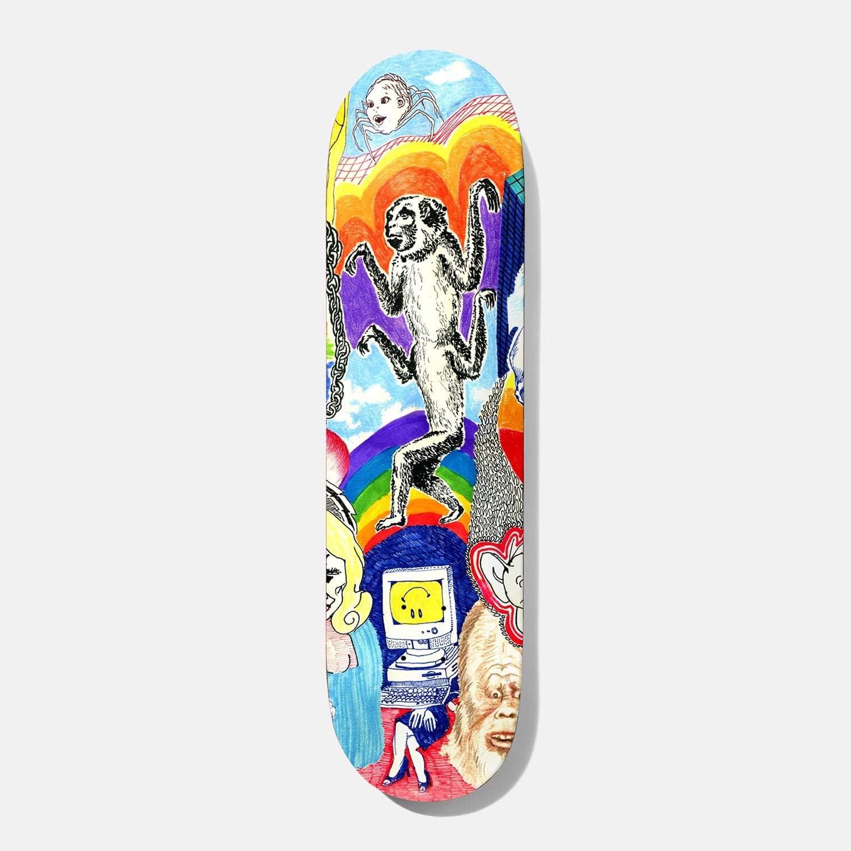 "Baker Skateboard Deck Andrew Reynolds Thoughts 8.0"" x 31.5"""