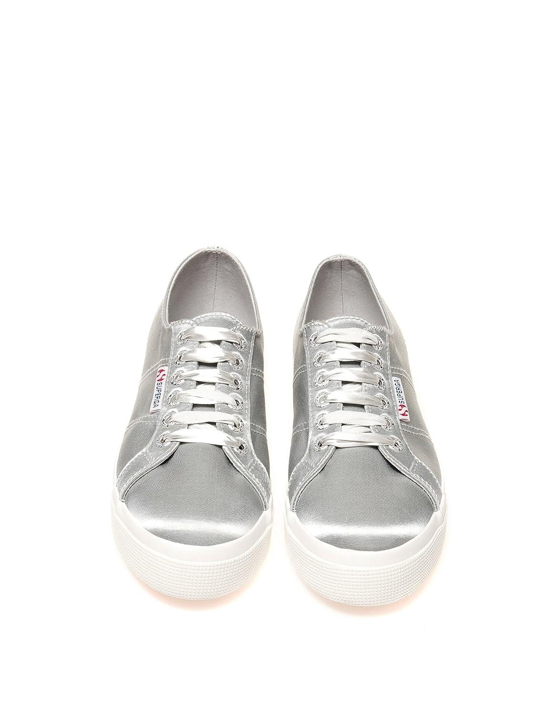 Superga Damens's 100% 2730-Satinw Damens's Sneakers in Gold 100% Damens's Polyester Silber 86dbac