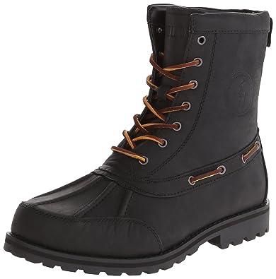 Polo Ralph Lauren Men's Whitsand Boot,Black,8 ...