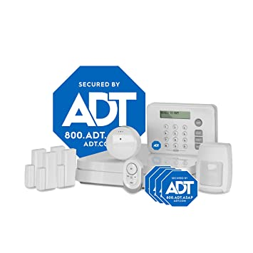 Adt Home Security Systems >> Lifeshield An Adt Company 11 Piece Easy Diy Smart Home Security System Optional 24 7 Monitoring No Contract Wi Fi Enabled Alexa Compatible