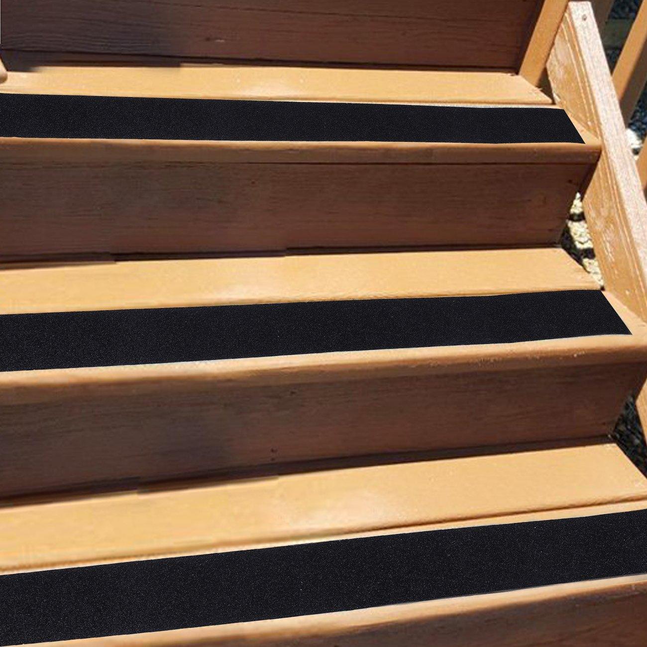 Cinta de seguridad,Pasos de cinta de alta tracci/ón Strong Grip Abrasive 50mmX5m Cinta antideslizante para interiores y exteriores