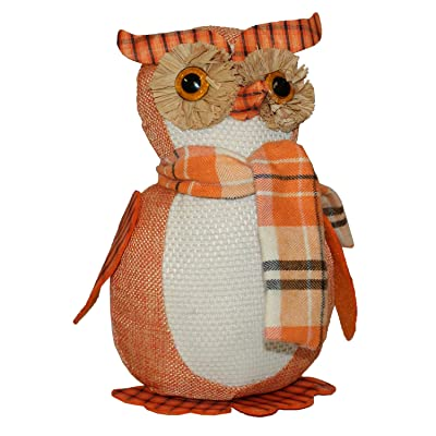 Happy Home Gifts Fall Autumn Plush Owl: Home & Kitchen