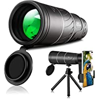Monocular Telescope-16X52 Monocular High Power Monocular for Adults Night Vision and Day Star Scope Monocular Smartphone…