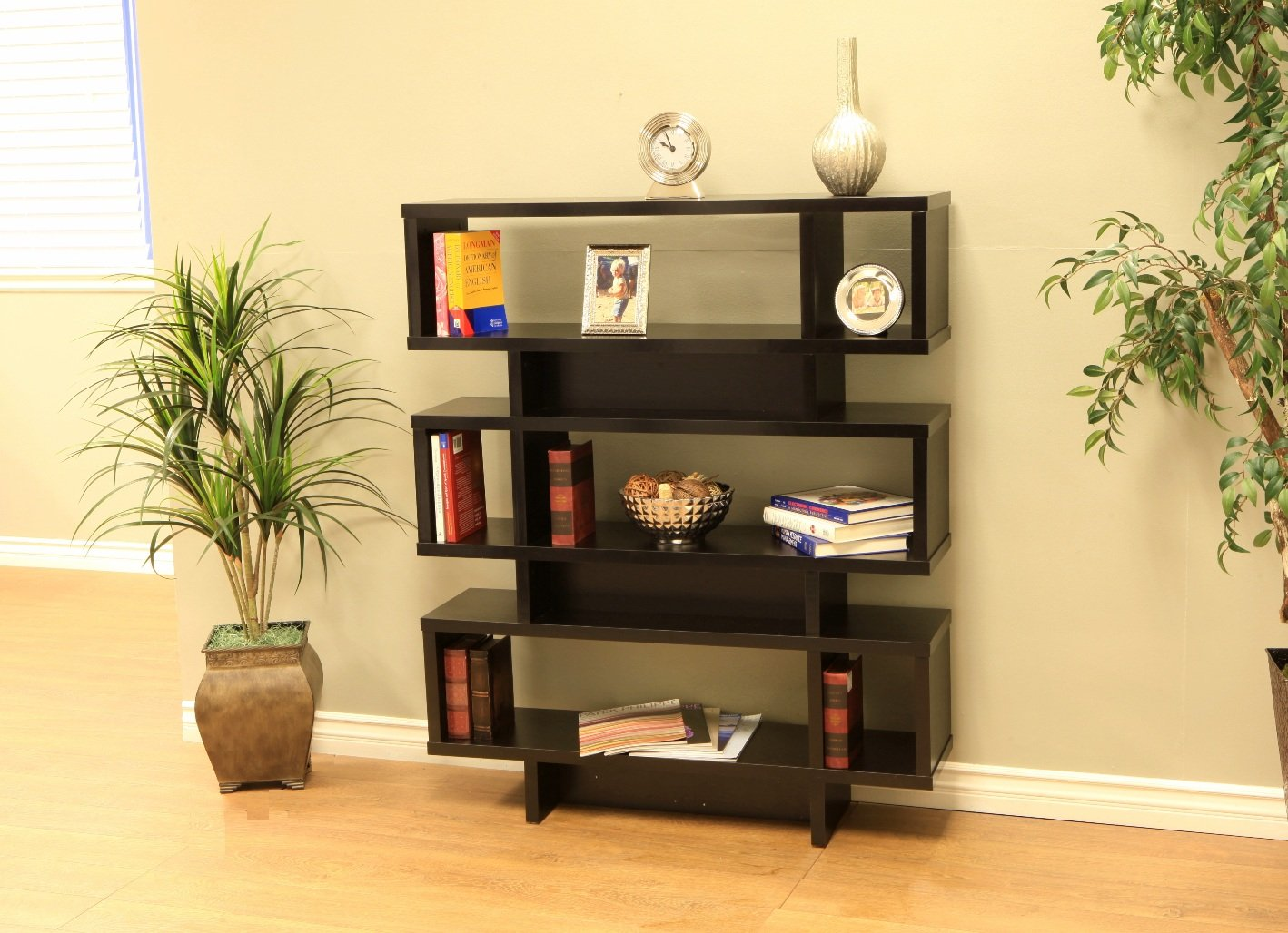 Frenchi Home Furnishing Tier Display Cabinet/Bookcase by Frenchi Home Furnishing (Image #2)