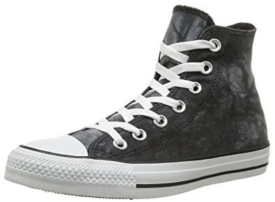 5e5dd7758d10 Converse Mens Chuck Taylor All Star Stars and Bars Hi-Top Black White  Sneaker