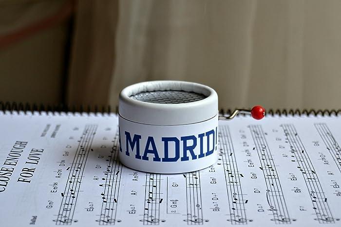 Caja de música ¡¡¡HALA MADRID!!! El regalo perfecto para los