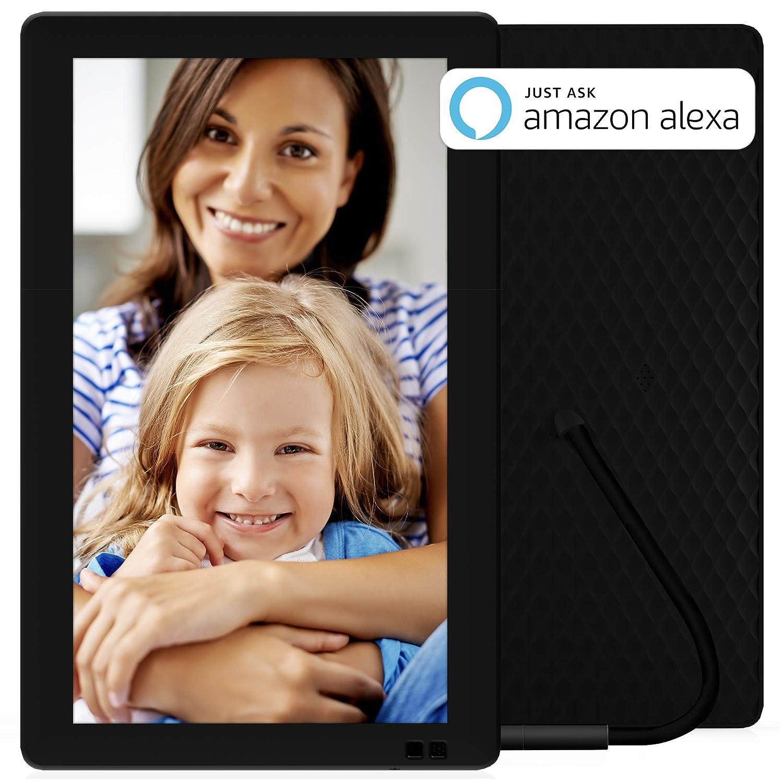 NIXPLAY Seed Marco Digital WiFi de 13 Pulgadas W13B. Aplicación Móvil y Web para Envios instantaneos al Marco Electrónico. Integración con Redes Sociales.